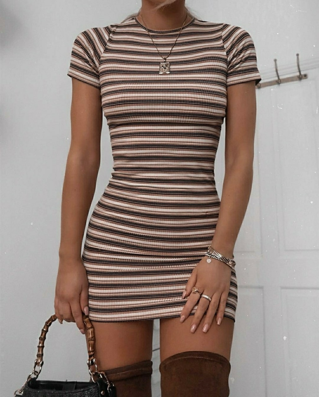 dress, girl, and outfits image