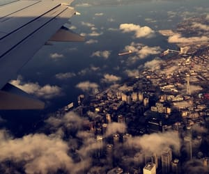 aesthetic, airplane, and cute image