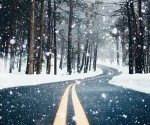 hiver, usa, and vacances image