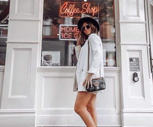 blogger, outfit, and golden goose image