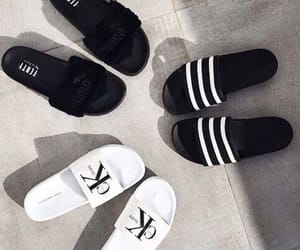 black, white, and slides image
