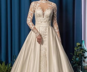 bride, cleavage, and princess image