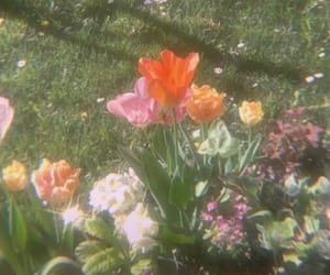 90s and flowers image