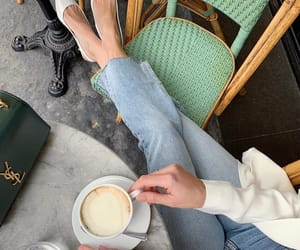 britain, coffee, and jeans image