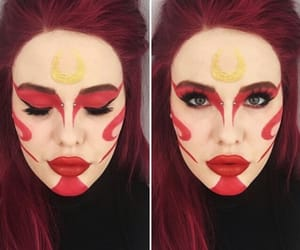 cosplay, avatar the last airbender, and makeup image