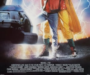 michael j. fox, christopher lloyd, and back to the future 2 image
