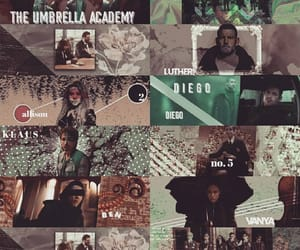 aesthetic, the umbrella academy, and number five image