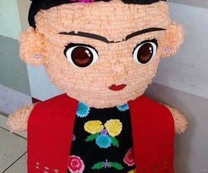 frida kahlo, pinata, and méxico image