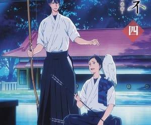 anime, handsome, and minato image