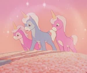 aesthetic, cartoon aesthetic, and unicorn aesthetic image