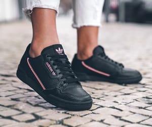 adidas, black and pink, and fashion image