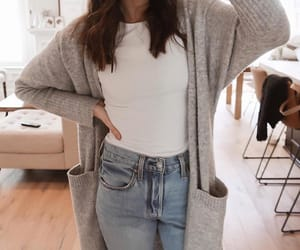 cardigan, style, and ootd image