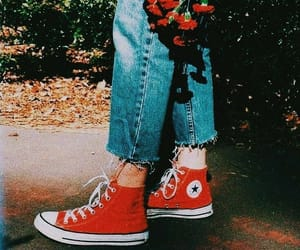converse and jeans image