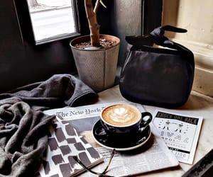 coffee, likefairytales, and reading corner image