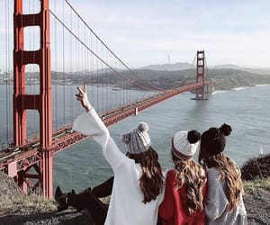 san francisco, friends, and friendship image