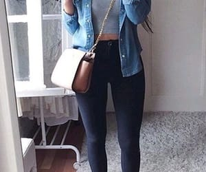 denim and outfits image