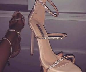beauty, glitter, and heels image