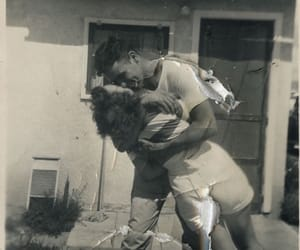 love, couple, and vintage image