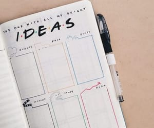 planner, agenda, and ideas image