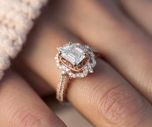 ring, style, and wedding image