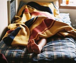 bed, sleep, and photography image