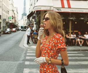 glasses, summer, and parís image
