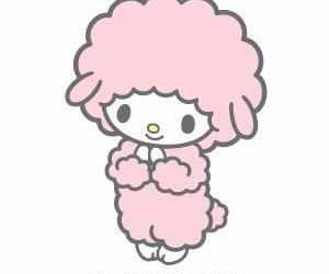 fluffy, kawaii, and lamb image