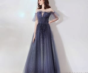 evening dress, evening dresses 2019, and glitter image