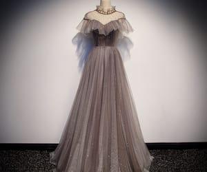 brown dress, evening dress, and glitter image
