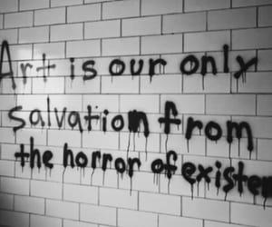 alternative, horror, and art image