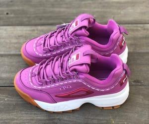fashion, Fila, and purple image