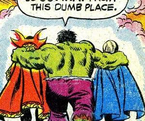 Hulk, valkyrie, and dr. strange image