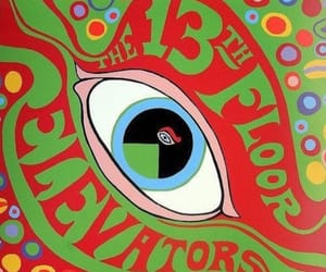 music, psychedelic, and 13th floor elevators image
