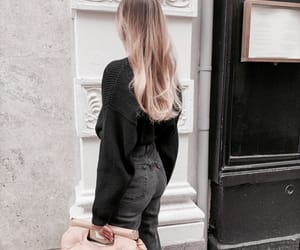 black, blonde, and chic image