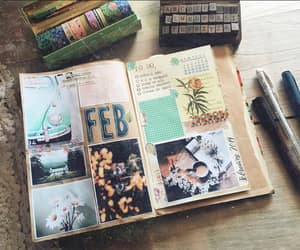 junk journal and bullet journal image