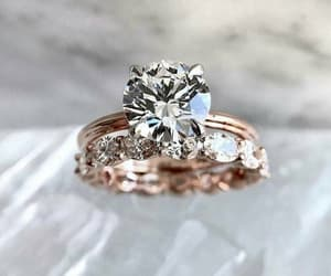 rings, diamond, and fashion image