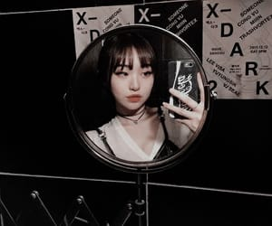 aesthetic, asian girl, and edgy image