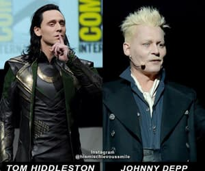 comic con, Marvel, and grindelwald image