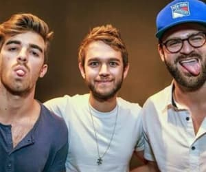 tongue, zedd, and the chainsmokers image