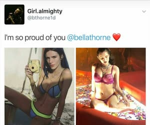bella thorne and before&after image