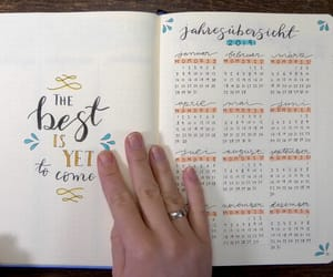 bullet, calendar, and inspiration image