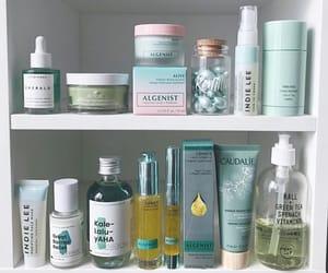 beauty, pastel, and shelf image