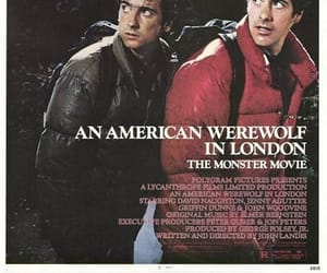 american, werewolf, and full moon image
