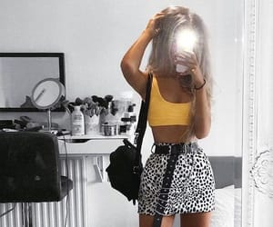 fashion, yellow, and cute image