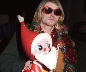 christmas, kurt cobain, and nirvana image