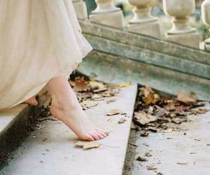 feet, white, and aesthetic image