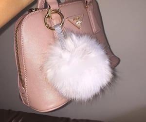 bag, pink, and Prada image