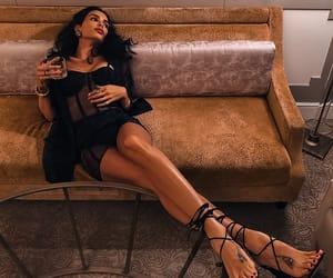black, fashion, and woman image