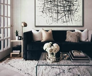 home, chic, and decoration image