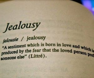 jealousy, love, and quotes image